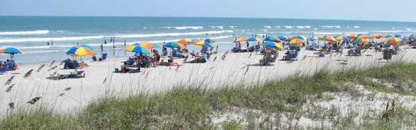 Florida's Atlantic Coast beaches.