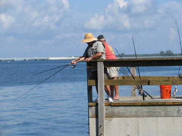 Fishing on sanibel island for Pier fishing net